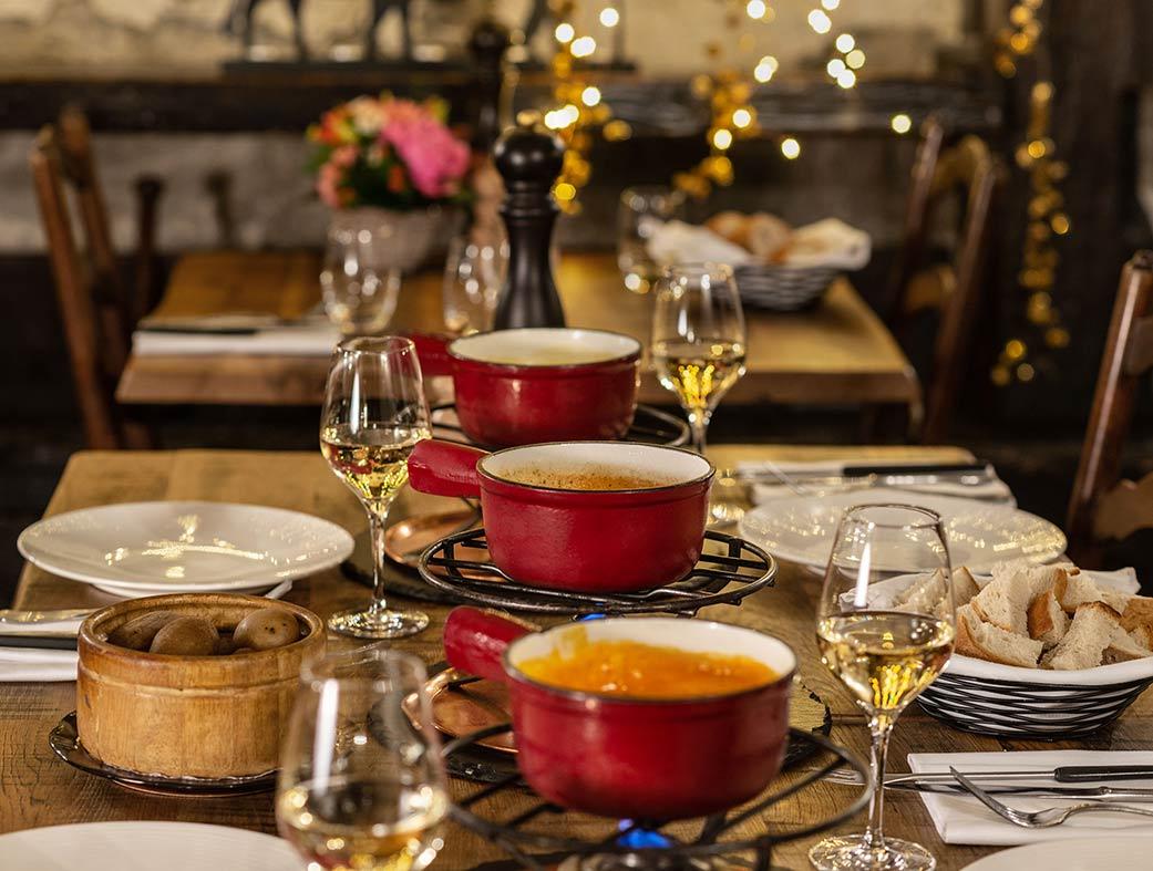 Restaurant le Museum Montreux - Fondue aux truffes