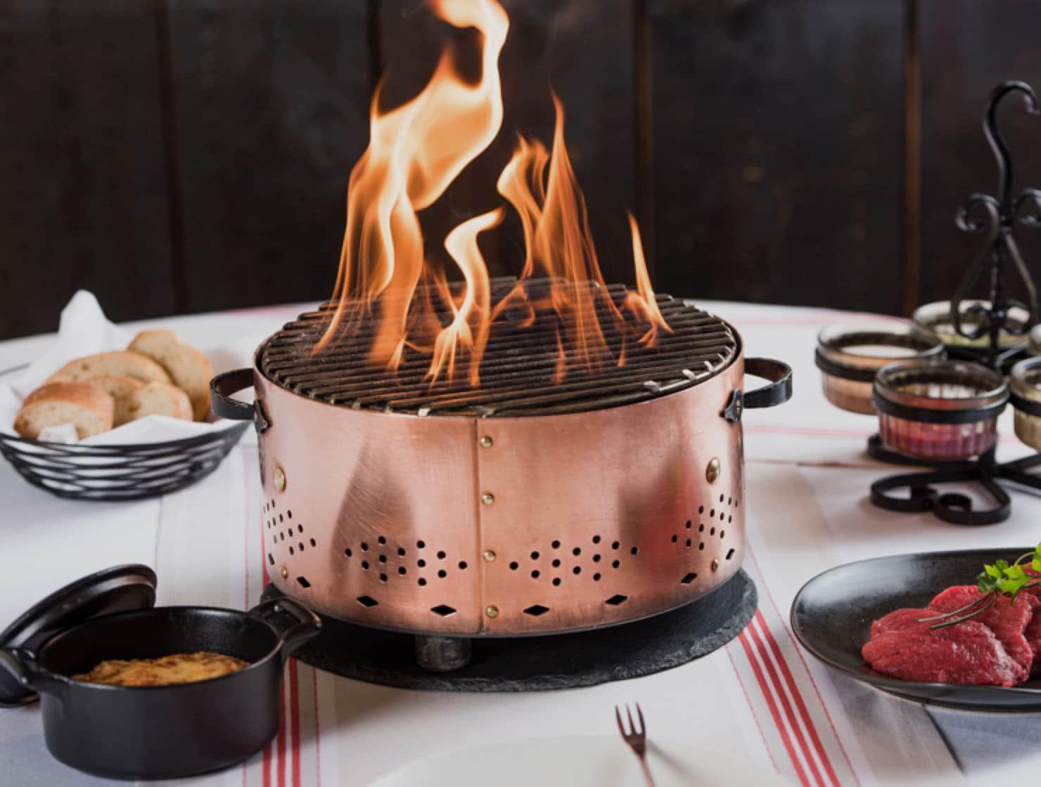 Restaurant le museum - Banquet Menu Charbonnade