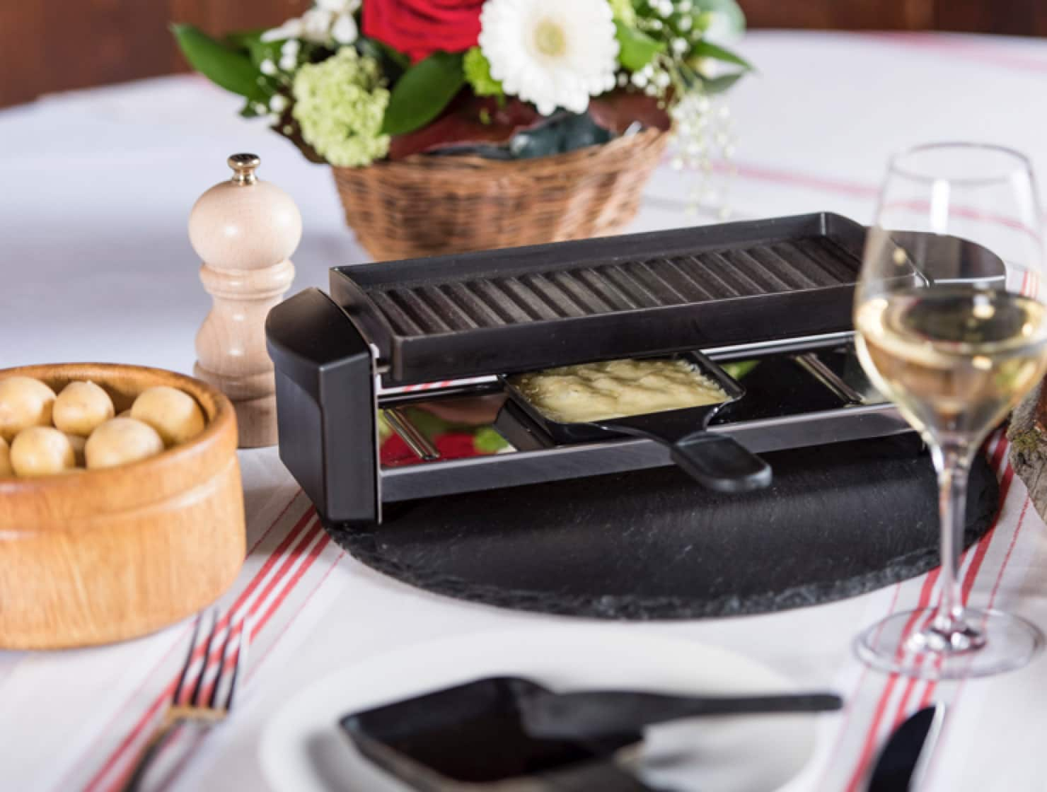 Restaurant le museum - Banquet Menu Raclette