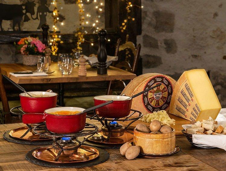 Restaurant le Museum Montreux La carte - Les Fondues