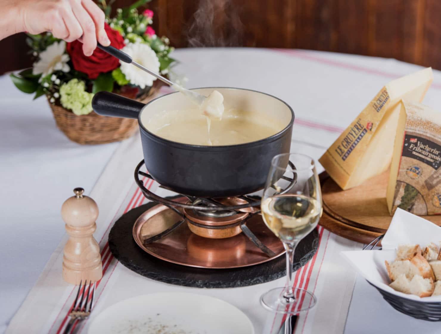 Restaurant le Museum Montreux La carte - Menu fromage