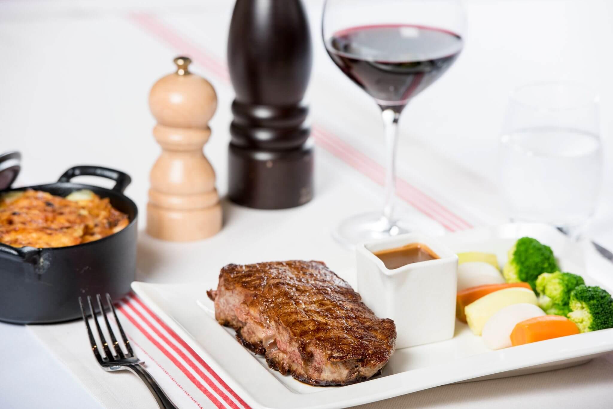 Restaurant le Museum Montreux La carte - Steaks