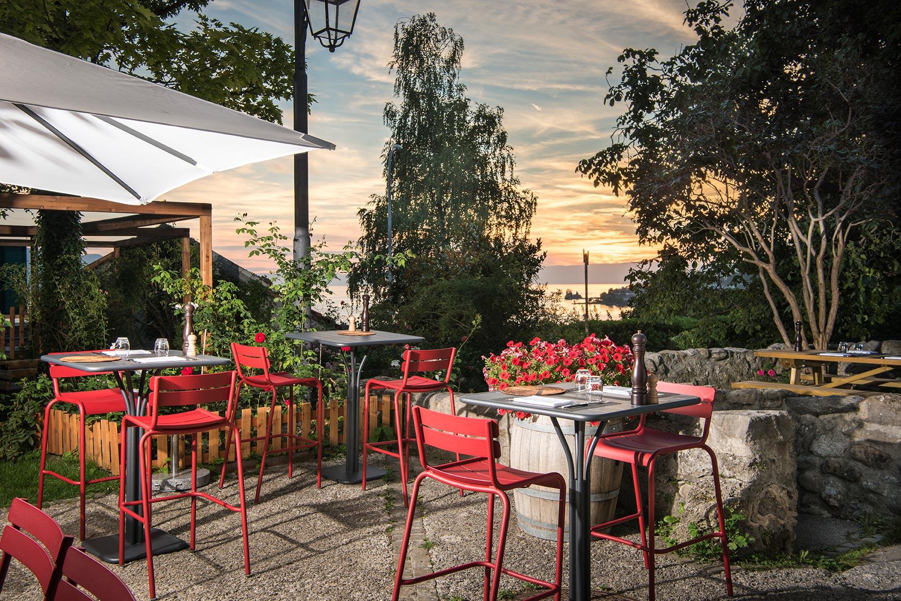 Restaurant le Museum Montreux - Terrasse