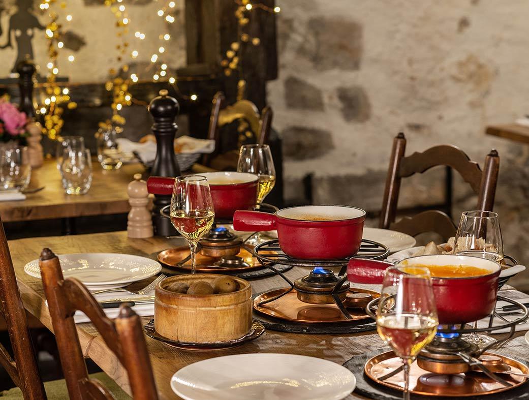 Restaurant le Museum Montreux - Fondue valaisanne